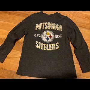 Pittsburgh Steelers long sleeve tee size 5t 🏈